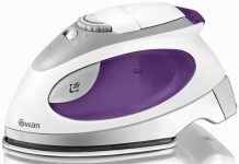 Swan Dual Voltage Travel Iron